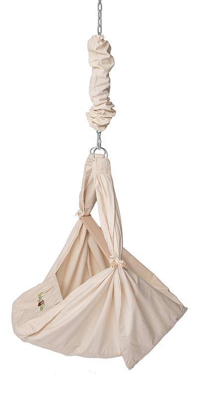 Federwiege & Babyhängematte mit Gestell